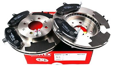 MINTEX FRONT BRAKE SET DISCS, PADS ROVER HONDA MG MDK0007 (REAL IMAGE OF (800 200 4346)