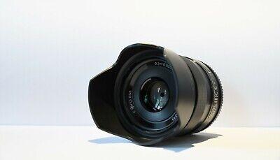 Sony SEL 35mm F1.8 OSS E Mount Prime Lens