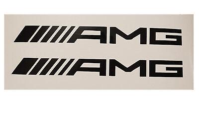 2 AMG Mercedes Aufkleber Sticker Logo C63 E63 SL63 ML63 CLS  16,5cm NEU