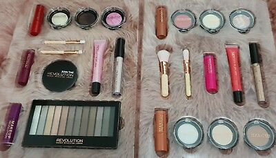 Make Up Bundle All Brand New Unused 25 FULL SIZED Items Makeup Revolution Gift