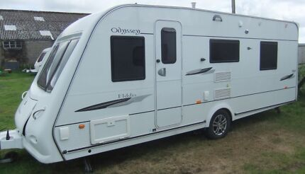 2009 Elddis Oddysey 550 ISLAND BED M/Mover,Shower/toilet. Torquay Surf Coast Preview