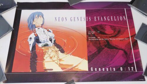 EVANGELION Neon Genesis 0:12 Episode 23 24 Gainax Japan Anime Promo Poster