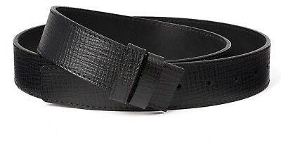 Black belt strap Mens belts 34 mm bally buckles Genuine calfskin Italian (Black Calfskin Belt Strap)