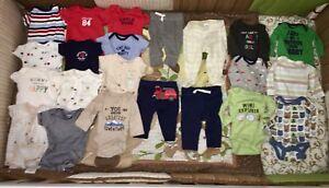 Newborn (0-3 month) Boy Clothing Lot