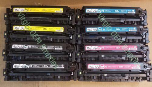 2 sets Virgin Empty HP CF380A - CF383A INTRO Toner Cartridges FREE SHIP 312A