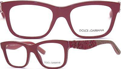 Dolce&Gabbana Fassung Glasses DG3239 2999 Gr 50 Nonvalenz BF 560 T19