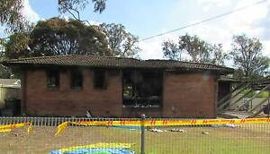 House in Sydney with granny flat/duplex approval - fire damaged Willmot Blacktown Area Preview