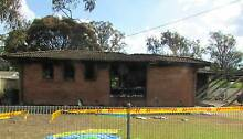 Fire damaged brick house in Willmot (Sydney) with Duplex approval Willmot Blacktown Area Preview