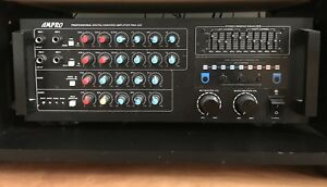 Ampro digital karaoke amplifier PMA 320- 720 Watts w/t Mics