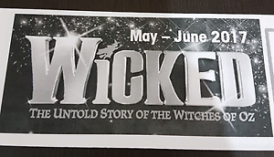 WICKED Tickets Matraville Eastern Suburbs Preview