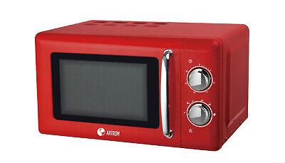 Microondas analógico ARTROM MM-720RLM , 20 Litros 700W Rojo