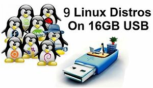 Linux Collection USB: Ubuntu, Mint, Debian, OpenSuse, Magia, Elementary, Zorin..