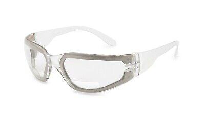 Gateway Starlite 1.5 Clear Anti Fog Bifocal Safety Glasses Foam Padded Magnifier