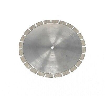 Dental Serrated Diamond Disc 40mm X 0.30mm For Cutting Model Plaster Die Stone