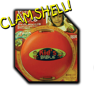 The Kid's Bible Dramatized With Sound Effects, CEV NT Audio Bible 50% OFF