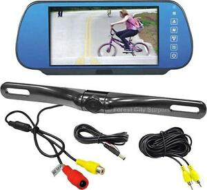 New - COMPLETE AUTOMOTIVE REAR VIEW CAMERA BACKUP SYSTEM - BE AWARE WHEN BACKING UP AND AVOID ACCIDENTS !!