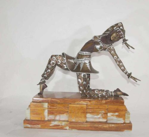 French Art Deco Bronze Karmona By Chiparus