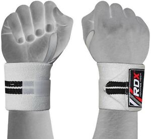 RDX-Wrist-Weight-Lifting-Training-Gym-Straps-Support-Grip-Glove-Body-Building-WB