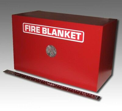 New Larsens Fire Blanket In Cabinet Fb1016 1 Of 6