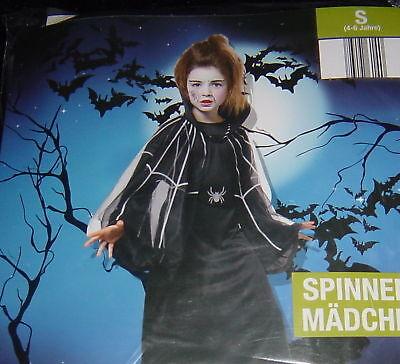 Halloween Grusel Kostüm SPIDERGIRL,Kinder 4-6 J.