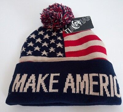MAGA President Donald Trump Make America Great Again Beanie Hat
