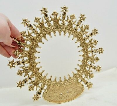 HALO, CROWN FOR RELIGIOUS, CHURCH STATUE - 10 1/2