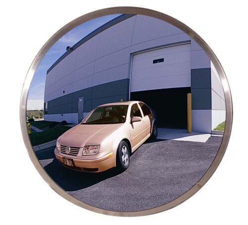 """Circular Acrylic Indoor Convex Security Mirror 18"""" Diameter Round"""