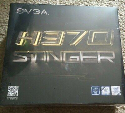 New EVGA H370 Stinger LGA 1151 Motherboard 111-CS-E371-KR