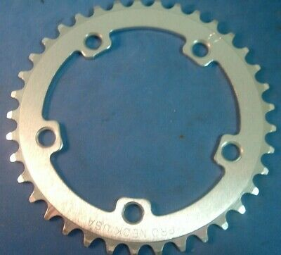 NOS Vintage 44T Chainring Chain ring Disc Sprocket old school BMX white