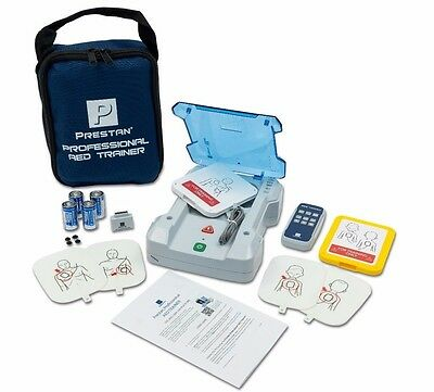 Prestan Deluxe Aed Trainer Kit Adultchild Cpr Defib Training Pp-aedt-kit-101