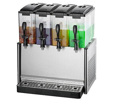 Commercial Frozen Hot Cold Drink Beverage Juice Dispenser Machine 12l4tank 220v