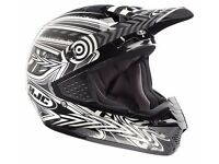 Brand New Ex Demonstration HJC CS-MX Motocross Charge Black Multi Off Road Motorcycle Helmet XL