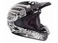 Brand New Ex Demonstration HJC CS-MX Motocross Charge Black Multi Off Road Motorcycle Helmet XL