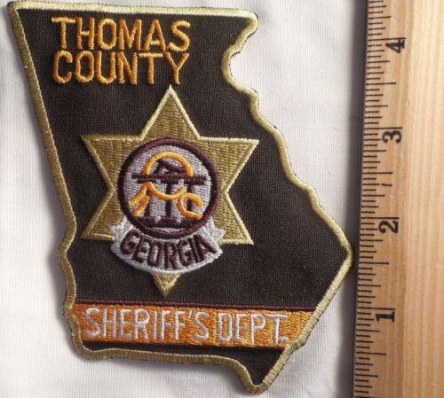 THOMAS COUNTY GEORGIA SHERIFF PATCH (HIGHWAY PATROL, SHERIFF, EMS)