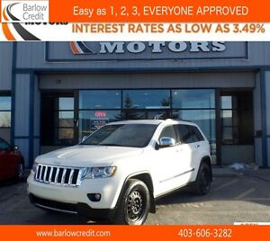 2012 Jeep Grand Cherokee Overland*EVERYONE APPROVED* APPLY NOW D