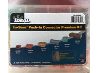 Ideal push in connector kit