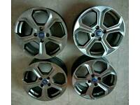 """Fiesta ST 17"""" Alloy Wheels..."""