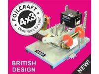 Hot Foil Printing Machine Foilcraft 4x3