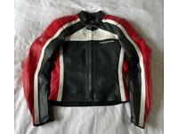 Hein Gericke Women's leather motorcycle jacket and trousers