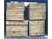 🌳Tanalised Feather Edge Wooden Fencing Panels/Pieces/Boards - Various Sizes Available🌲