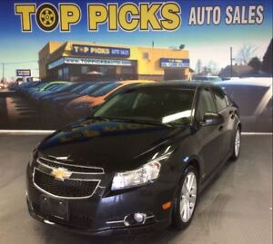 2012 Chevrolet Cruze LT Turbo, RS PACKAGE, ALLOY WHEELS AND MORE
