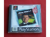 Jimmy Whites 2.. CUEBALL Snooker game ( vgc )