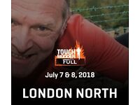 Tough Mudder Full London North (Saturday 7th of July) - 1 Ticket for Sale