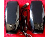 Logitech USB PC Speakers *Used Very Good Condition* £5