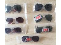 Rayban Aviators Various Colours with Tags