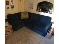 Large corner sofa bed, with storage, suitable for restricted access doorways