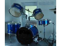Quality 1/2 size drum kit