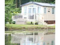 caravan for hire at Haggerston castle, LAKEVIEW (The Bordeaux Exclusive)sited on 105 lakefield