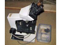 Binocular Microscope Cambridge Instruments Model 302101