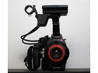 Canon C300 with vintage Russian 58mm lens & accessories